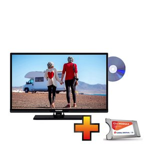 Telefunken 24 Inch 12V LED Smart TV + GRATIS M7 CI Module