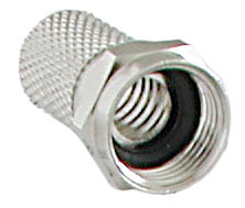 F-Connector 7mm met Rubber Ring