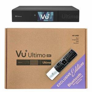 VU+ Ultimo 4K Speciale Editie met BT afstandsbediening