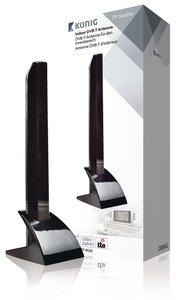 Binnen DVB-T/T2 - DAB+ Antenne 15 dB VHF / UHF