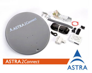 Astra2connect ku-BAND set
